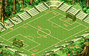 Energetic Soccer Field